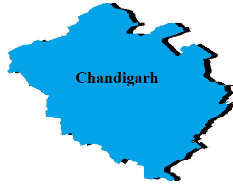 Chandigarh State Map And Districts Map Dhanviservices Dhanvi Services