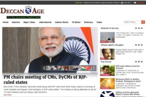 Deccan Age News Website Dhanviservices Dhanvi Services