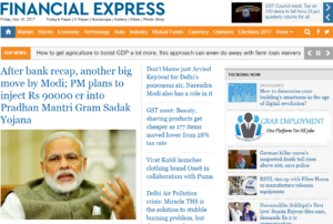 Financial Express News Website Dhanviservices Dhanvi Services