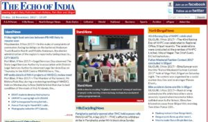 The Echo Of Indian News Website Dhanviservices Dhanvi Services