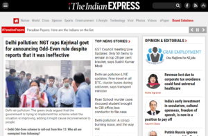 The Indian Express News Website Dhanviservices Dhanvi Services
