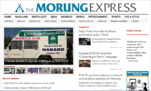 The Morung Express News Website Dhanviservices Dhanvi Services
