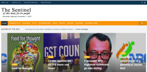 The Sentinel Assam News Website Dhanviservices Dhanvi Services