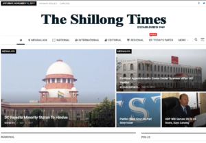The Shillong Times News Website Dhanviservices Dhanvi Services