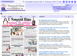 U Nongsain Hima News Website Dhanviservices Dhanvi Services